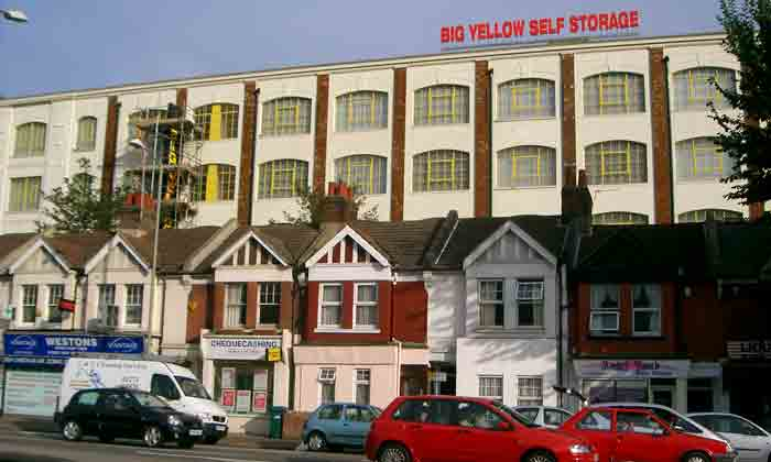 Big Yellow Storage, Brighton, UK