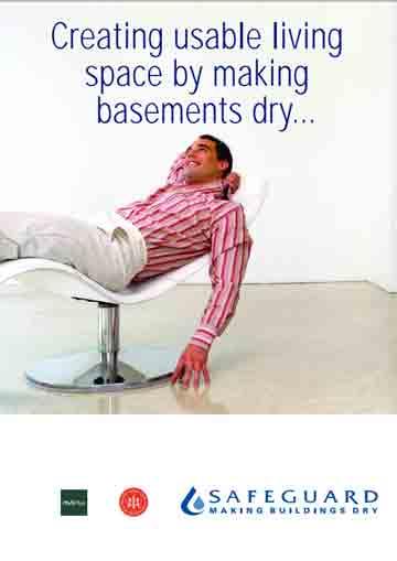 Creare spazi vivibili e utilizzabili rendendo asciutti gli scantinati.